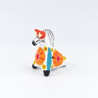 "Clay penny whistle ""Horse"" 4.5 x 7 x 7.5 , Dymkovo toys"