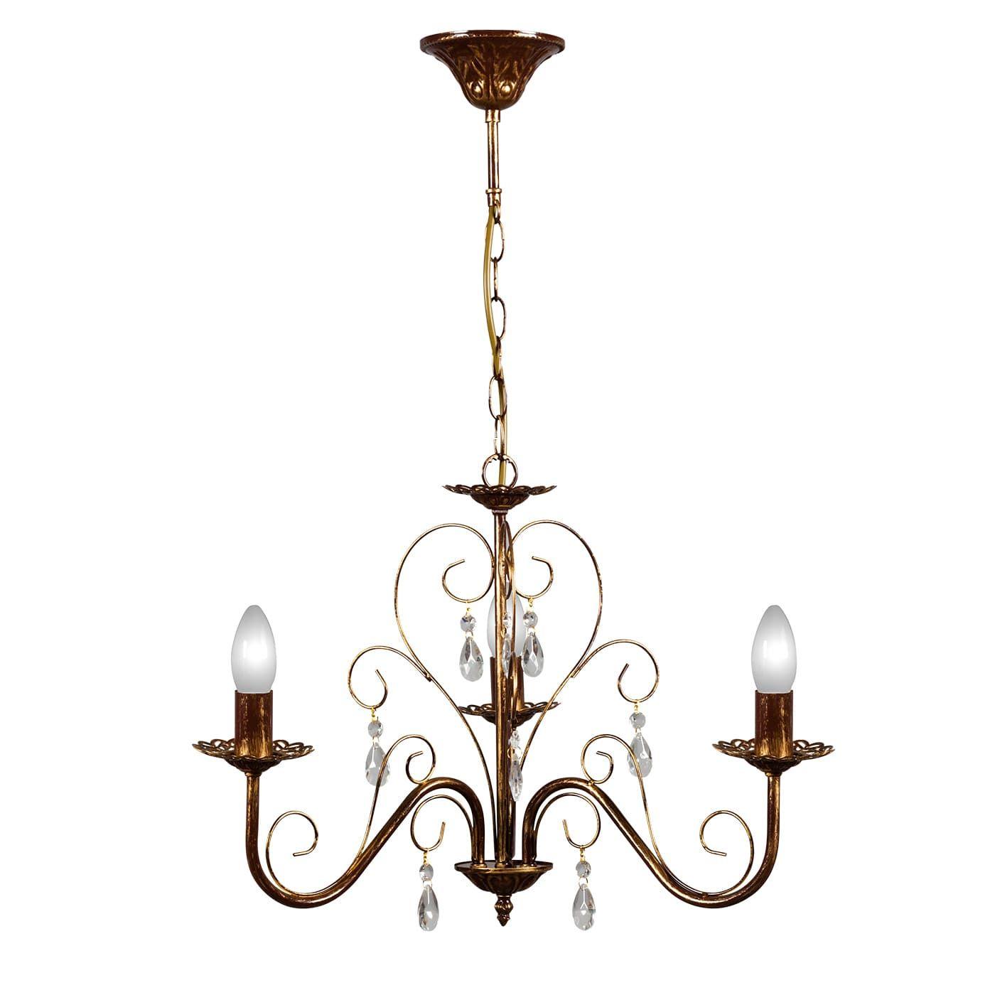 PETRASVET / Pendant chandelier S1024-3, 3xE14 max. 60W