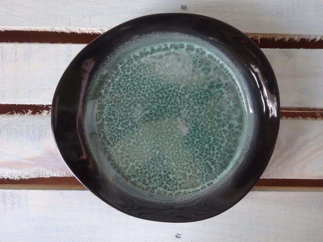 """Хорекс / Тарелка """"Green Night"""" stone small 6 шт."""