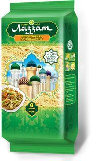 """""""LAZZAT"""" Noodles Lazzat Halal - classic, Lazzat Halal noodles at home, Lazzat Halal noodles in the eastern Briquettes -400 gr."""