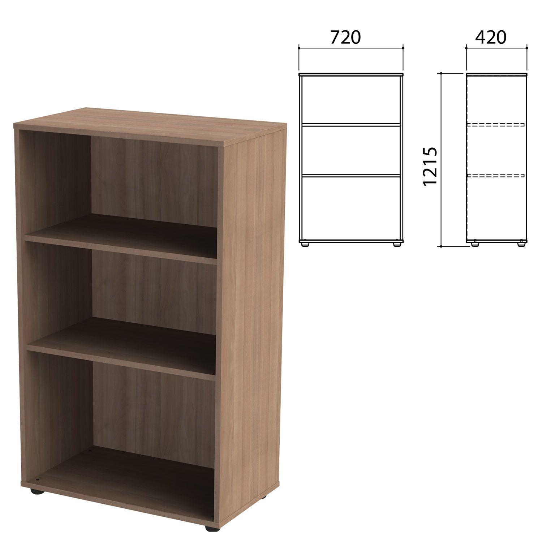 """Wardrobe (rack) """"Priority"""", 720x420x1215 mm, 2 shelves, garbo"""