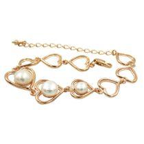 Bracelet 60026 'Pearl heart'