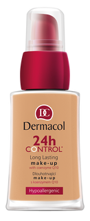 Cream with coenzyme Q10 tone: No. 50 , 24 Control Dermacol Long Lasting