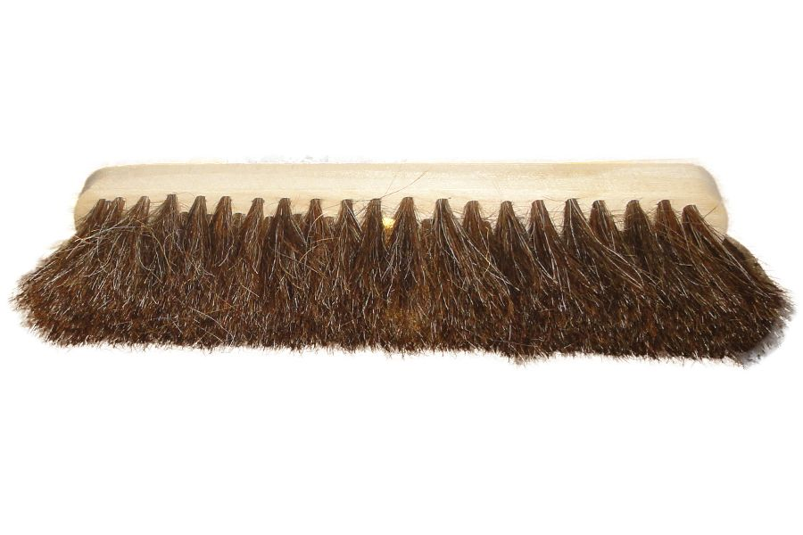 Torzhok Brush Enterprise / C1 wooden floor brush without sleeve horsehair 280/4