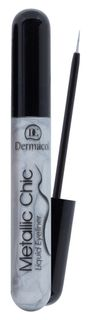 Eyeliner with metallic effect No. 3 - silver , Dermacol Metallic Chic