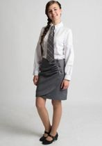 "Classic skirt from the collection ""School waltz"""