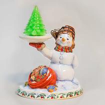 Snowman - candlestick