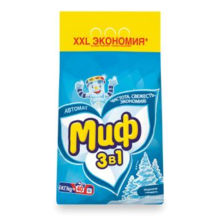 Washing powder-automatic 6 kg, MIF 3v1,