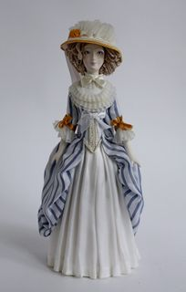 Doll gift. The Marquis in a dress of the 18th century.