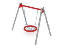 Swing 'Nest' F 603 - children's play swings for outdoor areas