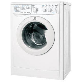 INDESIT IWSC6105 washing machine, 1000 rpm, 6 kg, front loading, 13 programs, 60 x44 x85 cm, white