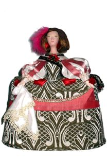 Doll gift. Children's court costume. Spain. Prado. The beginning of the 17th century.