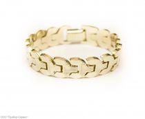 Zirconia bracelet 'Spike'
