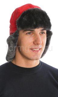"Cap ""Antifrost"", red (faux fur)"