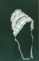 Lace cap for baby