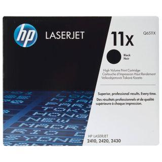 HP (Q6511X) LaserJet 2410/2420/2430 Toner Cartridge, # 11X, Original, 12,000 pages