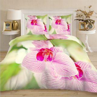 Linens 3D Satin purple Orchid