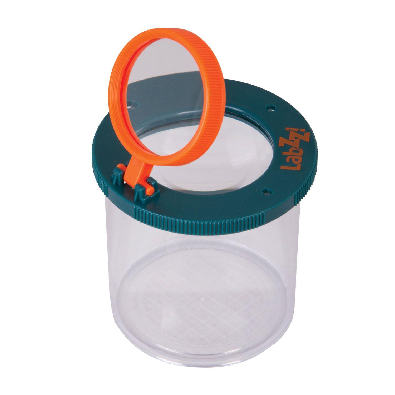 LEVENHUK / Children's magnifier LabZZ C1, glass with two magnifying lenses х3 / х6