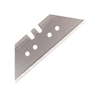 The powerful blades for universal knife, 18 mm, BRAUBERG, SET of 5 PCS., shape-trapezoid, in plastic box