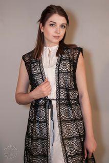 Womens vest lace С456АУ