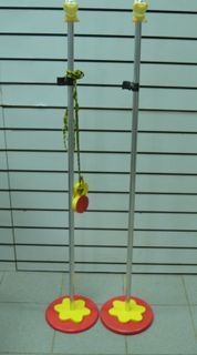 Children's rack for jumping with cord - sports and gaming equipment