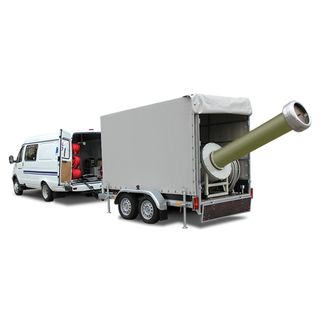 Mobile electrical laboratory for testing substation equipment ETL-250