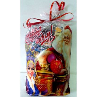 """New Year's gift """"Winter evening"""", a set of chocolates 600g."""