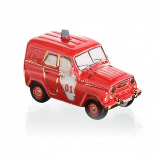 "Christmas tree toy ""UAZ fire"""