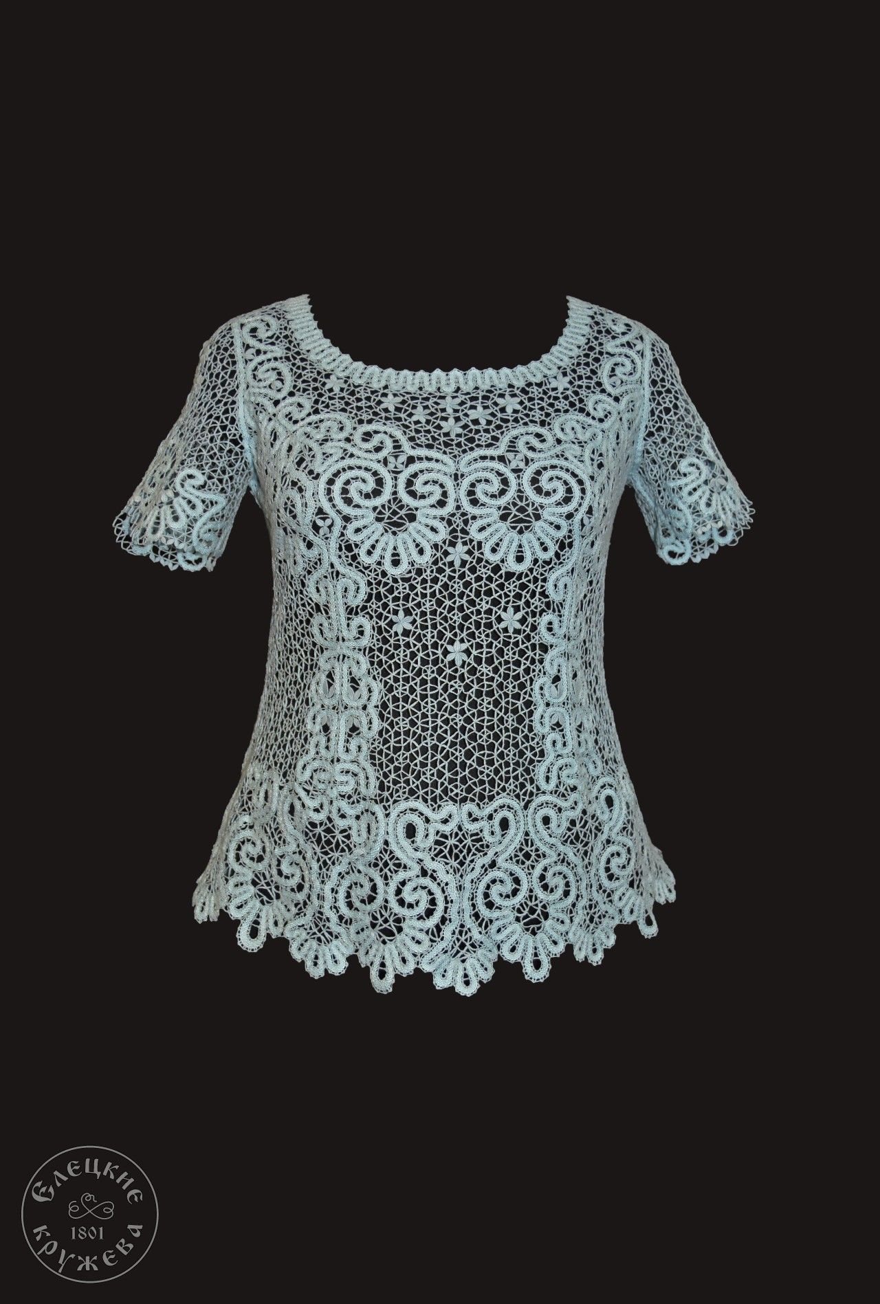 Yelets lace / Women's lace blouse С1046