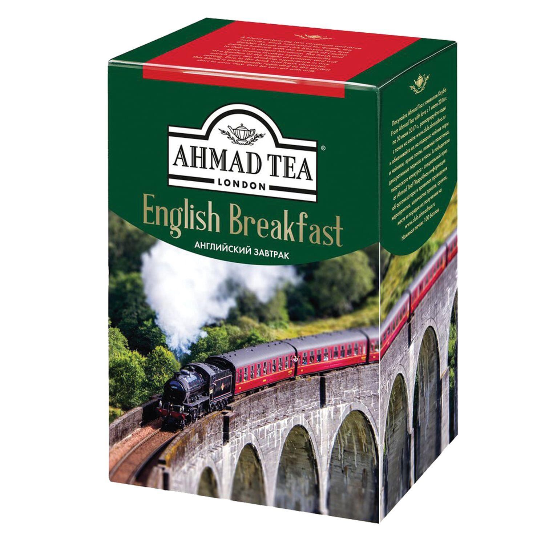 """AHMAD / Tea """"English Breakfast"""" black sheet, cardboard box, 200 g"""