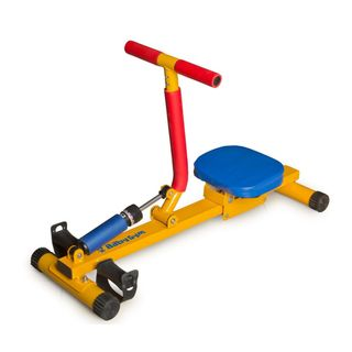 Sport-Game / Children's Rowing simulator with one handle