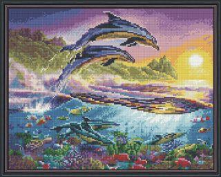 Diamond mosaic