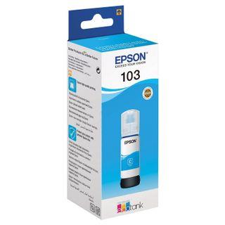 EPSON ink (C13T00S24A) for CISS EPSON L3100 / L3101 / L3110 / L3150 / L3151 / L1110, cyan, ORIGINAL