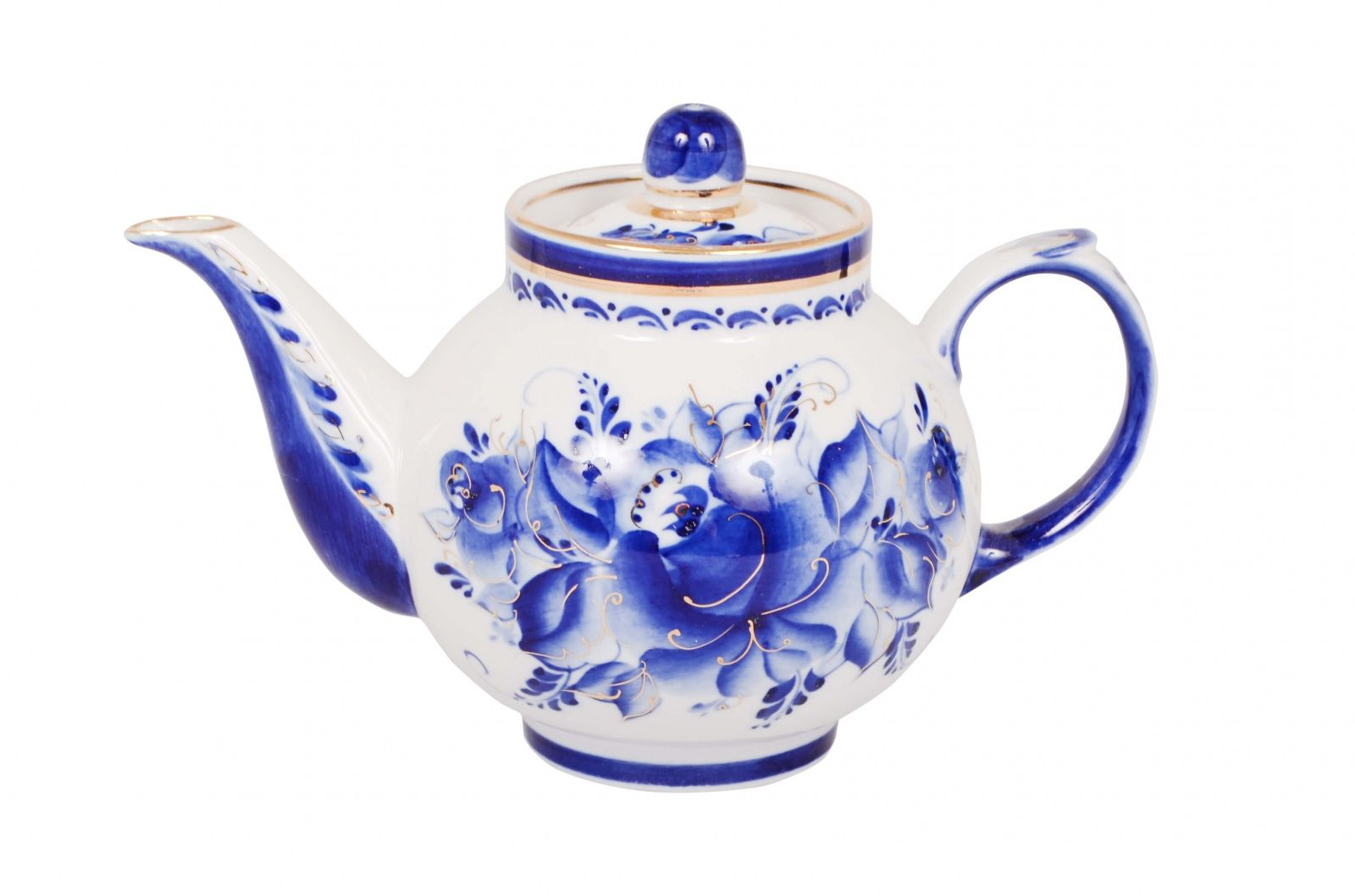 Dulevo Porcelain / Teapot 700 ml Rubin Gold