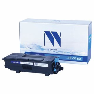 Laser cartridge NV PRINT (NV-TK-3160) for KYOCERA ECOSYS P3045dn / 3050dn / 3055dn / 3060dn, yield 12,500 pages