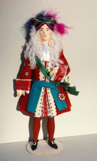 Marquis costume for the ballet