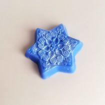 Handmade soap Snowflake