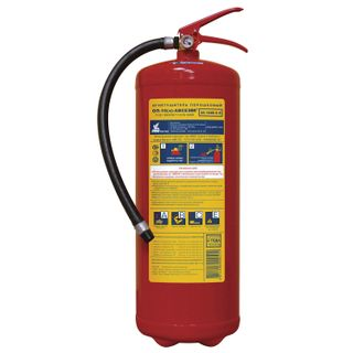 MIG / Powder fire extinguisher OP-10, ABCE (solid, liquid, gaseous substances, electrical installations)