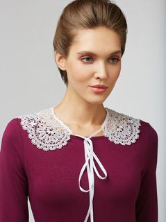 Detachable Lace Collar No. 81, Madame Cruje