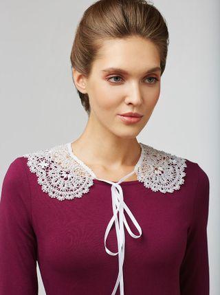 Detachable Lace Collar No. 81, Madame Cruje