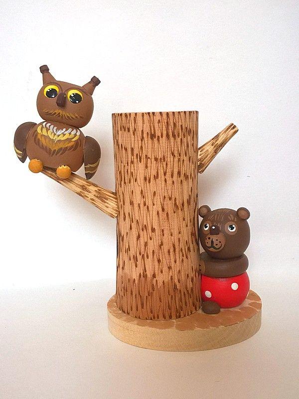 "Tver souvenirs / Pencil holder ""Forest Fairy Tale"""