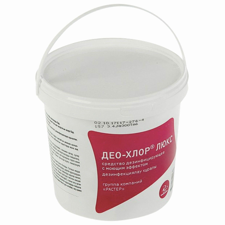 DEO / Disinfectant 1 kg DEO-CHLORINE LUX, tablets 300 pcs.