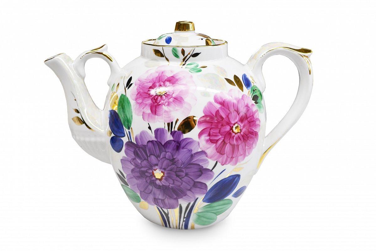 Dulevo Porcelain / Teapot 4500 ml Russian Summer Evening