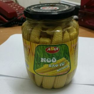 Baby sweet corn in jar 720ml