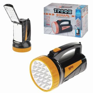 TROPHY / LED Flashlight TSP19, 19 x LED + 18 x LED, 2 modes, rechargeable, charge from 220 V