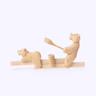 Bogorodskaya toy / Wood composition