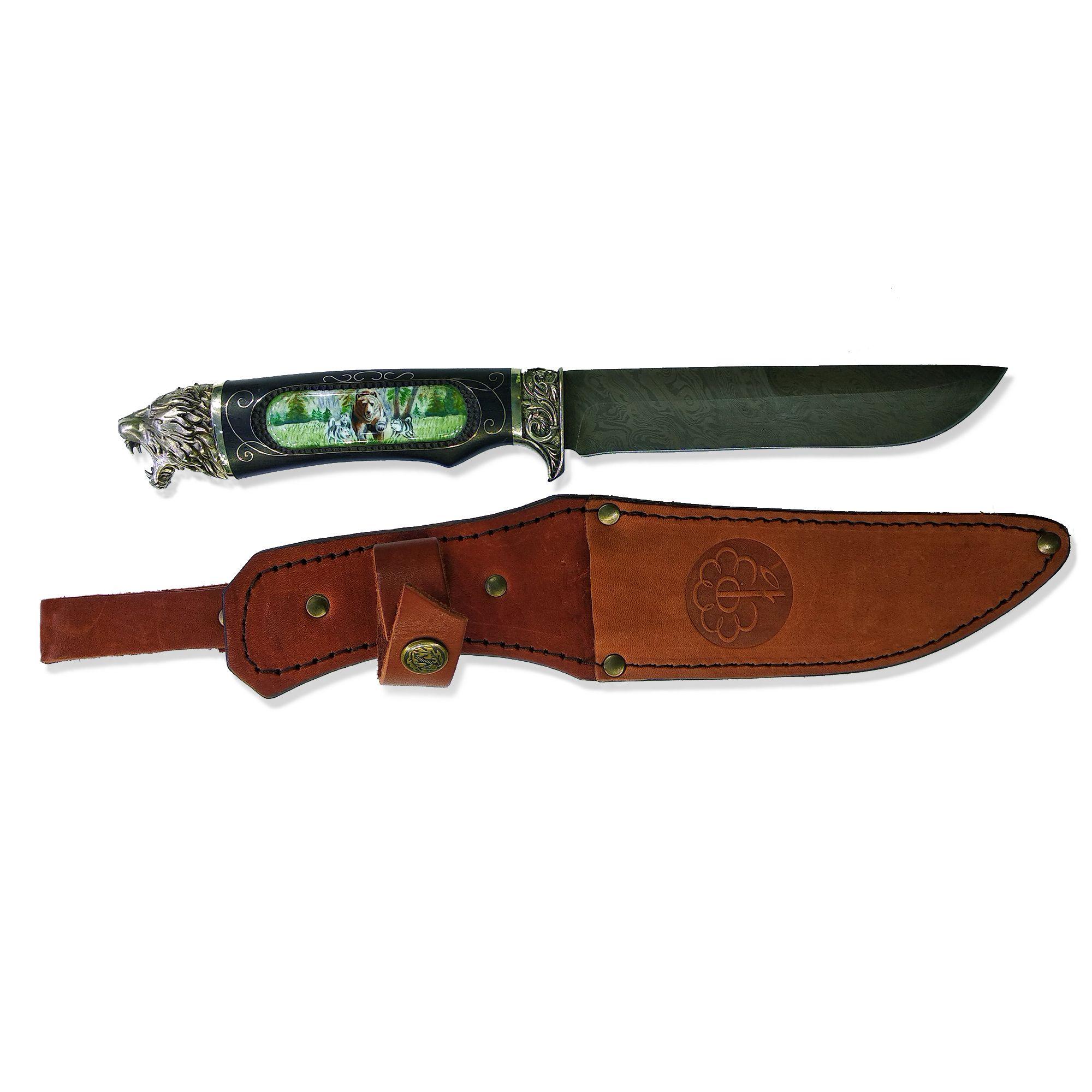 Rostov enamel / Hunter's knife