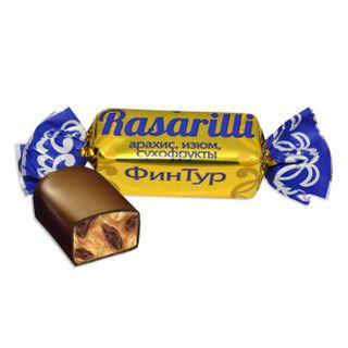 "Candy ""Rasarili"" with peanuts / peanuts, raisins, dried fruits"