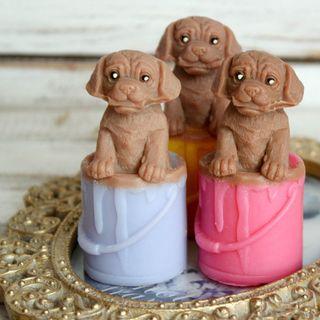 Handmade soap Little artist - mix of colors