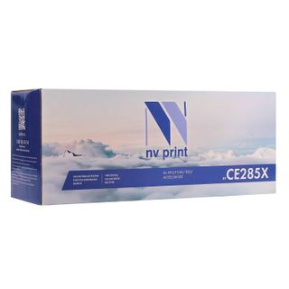 Toner cartridge NV PRINT (NV-CE285X) for HP LaserJet P1102 / P1102W / M1212NF, yield 2300 pages.